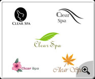 Clear Spa- web logo design