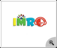 Imro music-web logo design