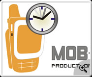 Mobile reminder- web logo design
