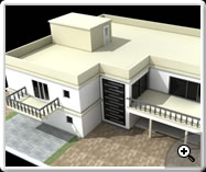 3D Floorplan- House