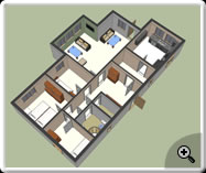 Google Sketchup- Ground Floor Plan_1