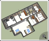 Google Sketchup 3D- Ground Floor Plan_2