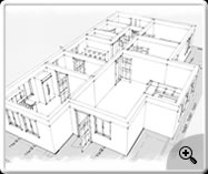 3D Floor Plan- Ground Floor Sketch